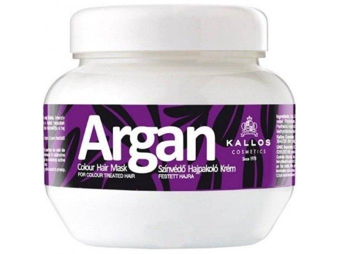 kallos argan colour hair mask 275ml i92744