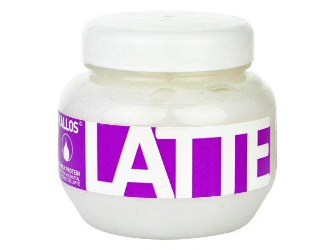 kallos latte maska pro poskozene chemicky osetrene vlasy 22