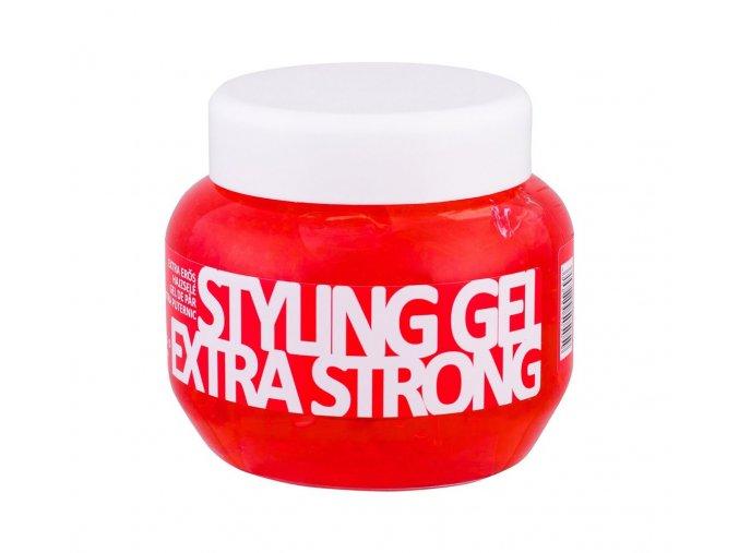 Styling Gel Extra Strong - gel na vlasy KALLOS 275 ml