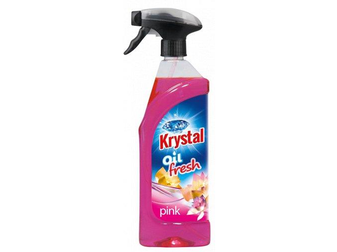 0002395 Krystal olejovy osvezovac ruzovy 750ml