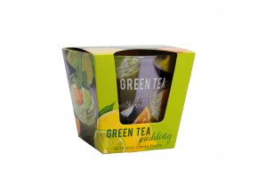 bartek candles green tea pudding