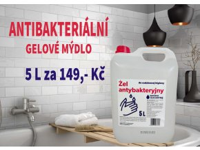 gelové mýdlo 5 L