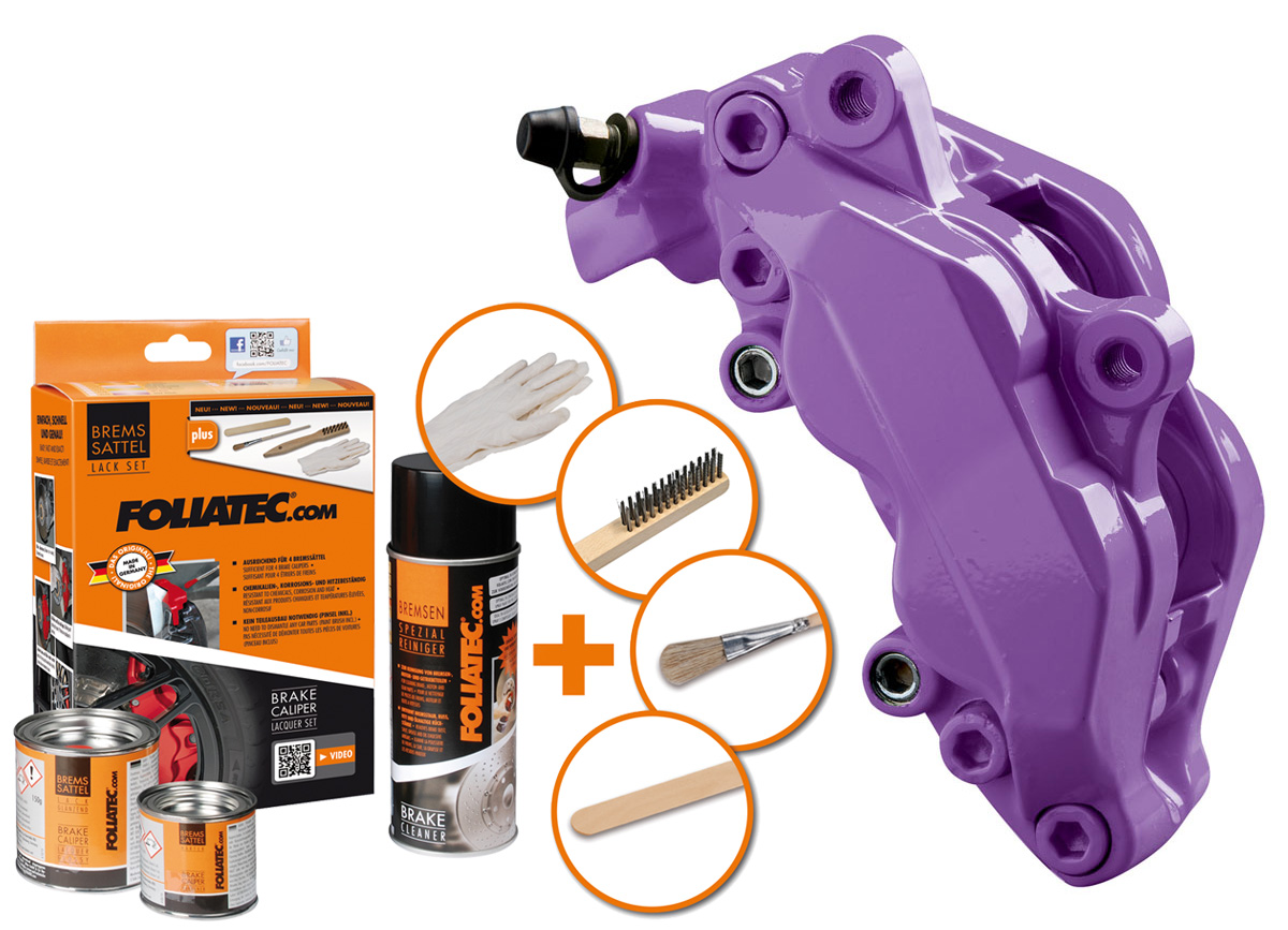 FOLIATEC dvousložková barva na brzdy (Deep purple)