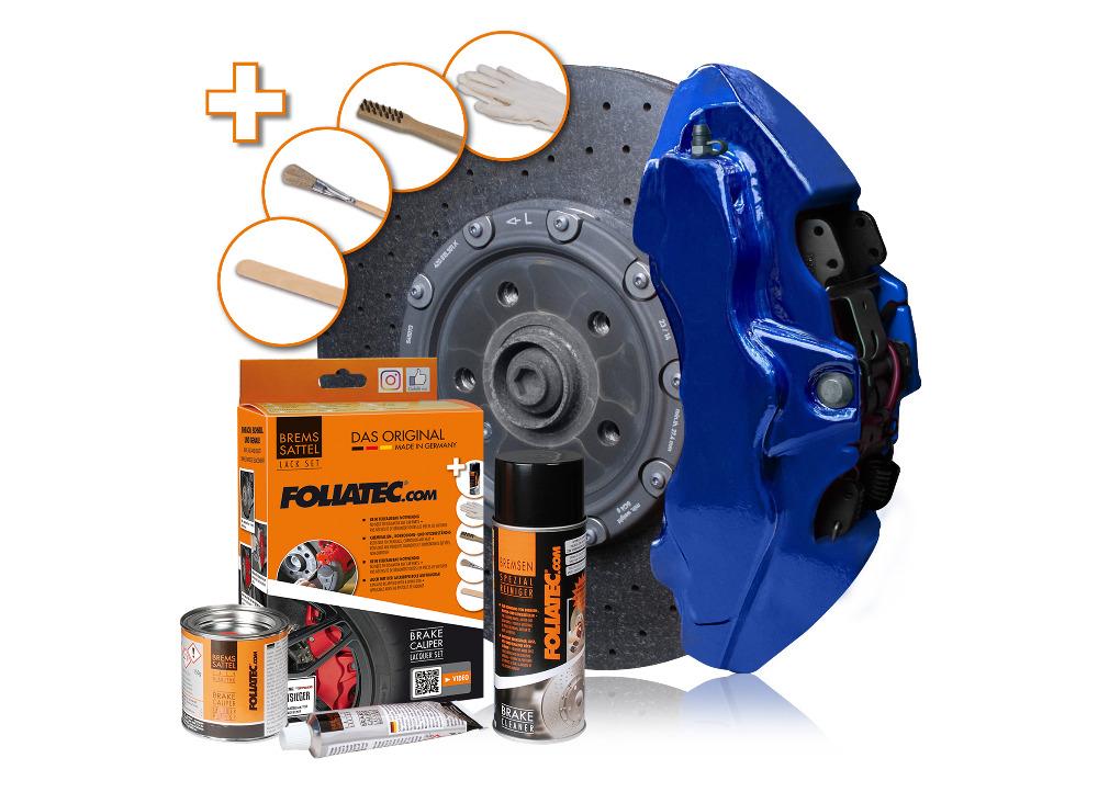 FOLIATEC dvousložková barva na brzdy (Performance blue metallic)