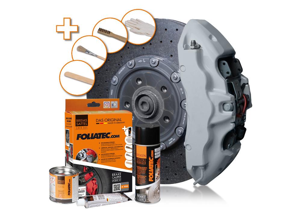 FOLIATEC dvousložková barva na brzdy (Circuit grey)