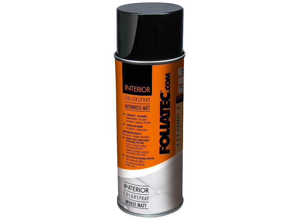 FOLIATEC barva na interiér - Interior Color Spray, barva bílá matná, objem: 400 ml