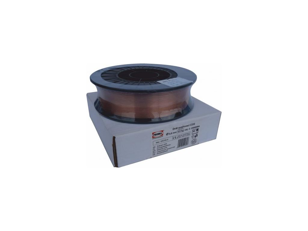 Drát svářecí - CO2 0,6mm/5kg