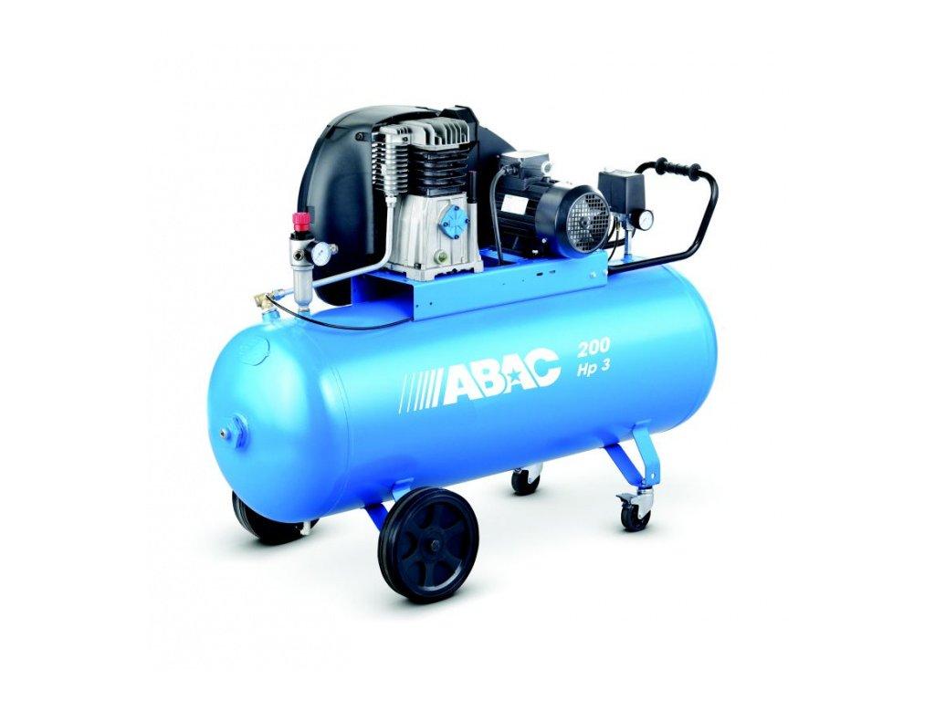 P200/400/3 - Kompresor s olejovou náplní - pomaloběžný