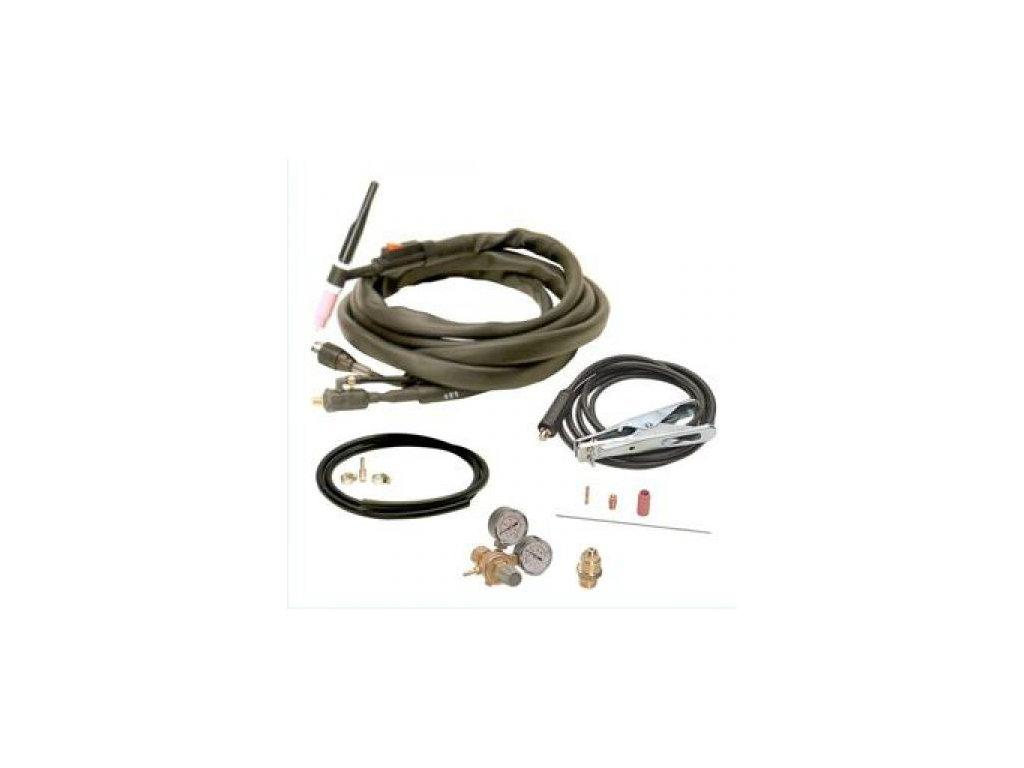 Příslušenství pro svařovaní metodou TIG včetně red.ventilu AR