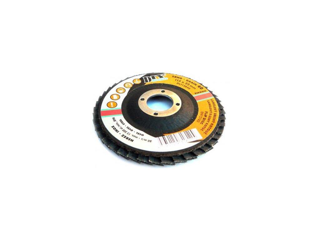 DL 15040 (D150 P040) - Lamelový kotouč zirkon (10)