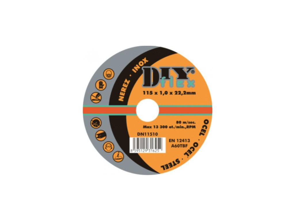 DY 11520 (115x2,0) - Kotouč řezný na ocel (10)