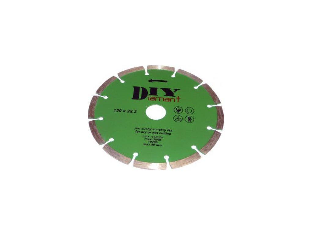 DIYS 125 - Diamantový kotouč segmentový