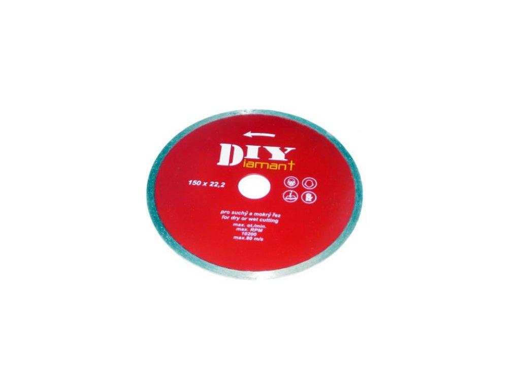 DIYC 150 - Diamantový kotouč celoobvodový