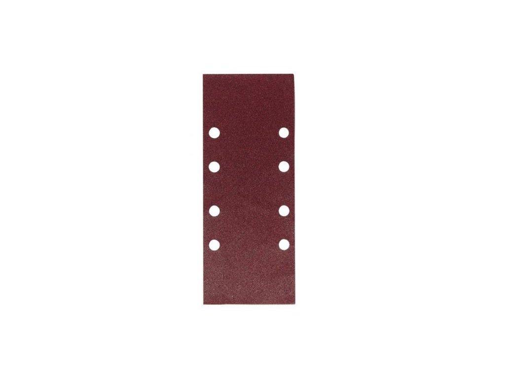 Brusný papír - 115x230, zr. 80 pro PSM1011, WU641, (suchý zip, 14 děr)