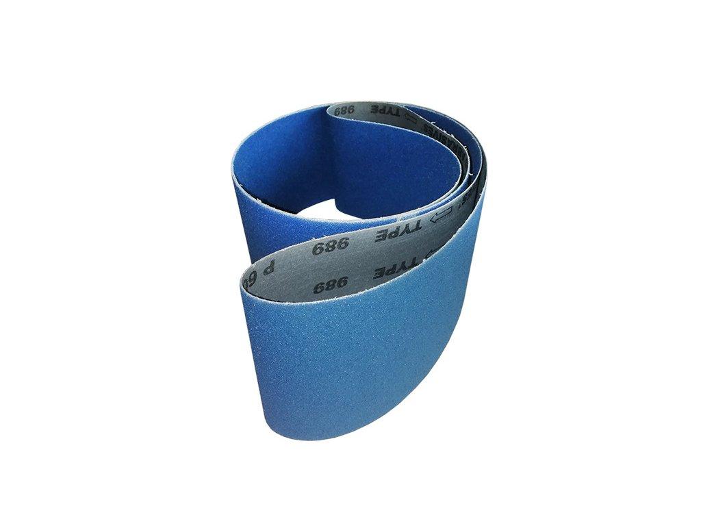 Brusný pás zirkon 75x2000, zr. 100 pro BPK-2075/400