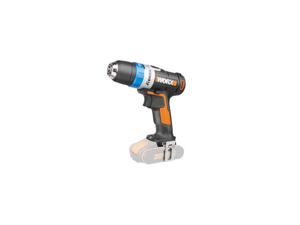 WX178.9 - Aku vrtačka 20V - bez akumulátoru - PowerShare