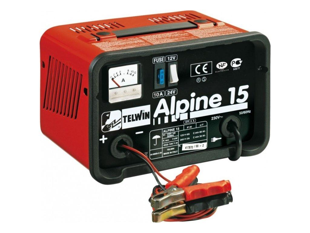 Alpine 15 - Nabíječka