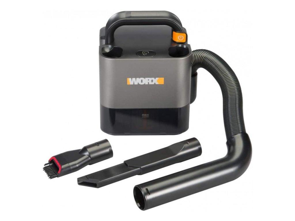 Aku vysavač WORX PowerShare WX030-9 přenosný 20V - bez akumulátoru