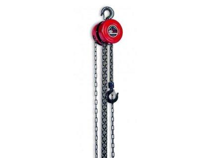 RZ-23 - Řetězový kladkostroj 1,4 t x 3 m