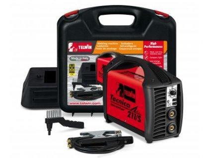 TECNICA 211/S - Svařovací invertor v kufru včetně kabelů