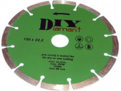 DIYS 115 - Diamantový kotouč segmentový