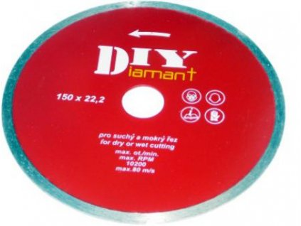 DIYC 115 - Diamantový kotouč celoobvodový