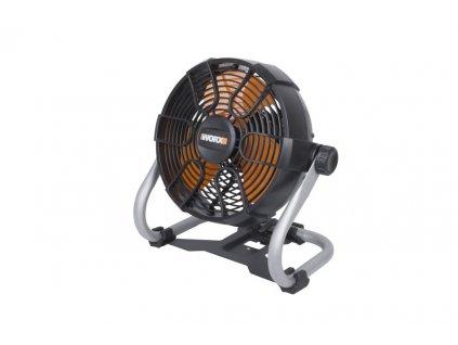 Aku ventilátor WORX PowerShare WX095-9 20V, 242mm - bez akumulátoru