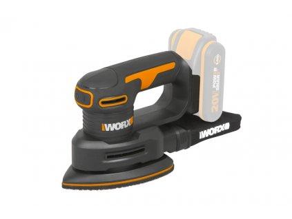WX822.9 - Aku vibrační bruska 20V - bez akumulátoru - Powershare