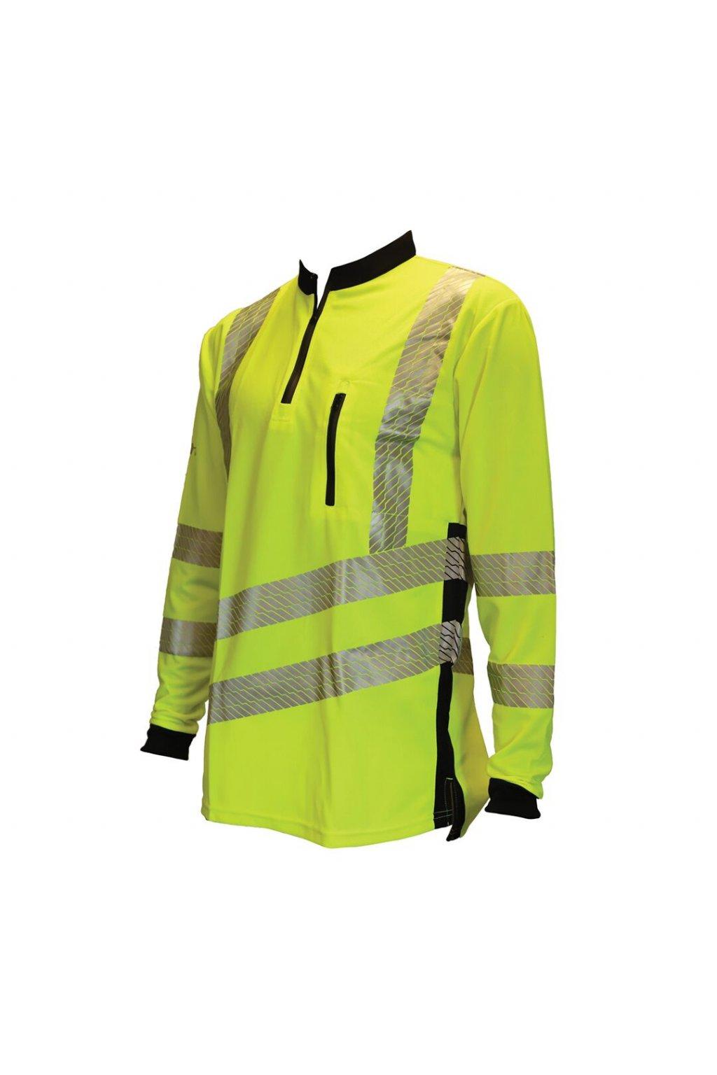 Treehog - tričko s dlouhým rukávem Performance - H.V. Žlutá