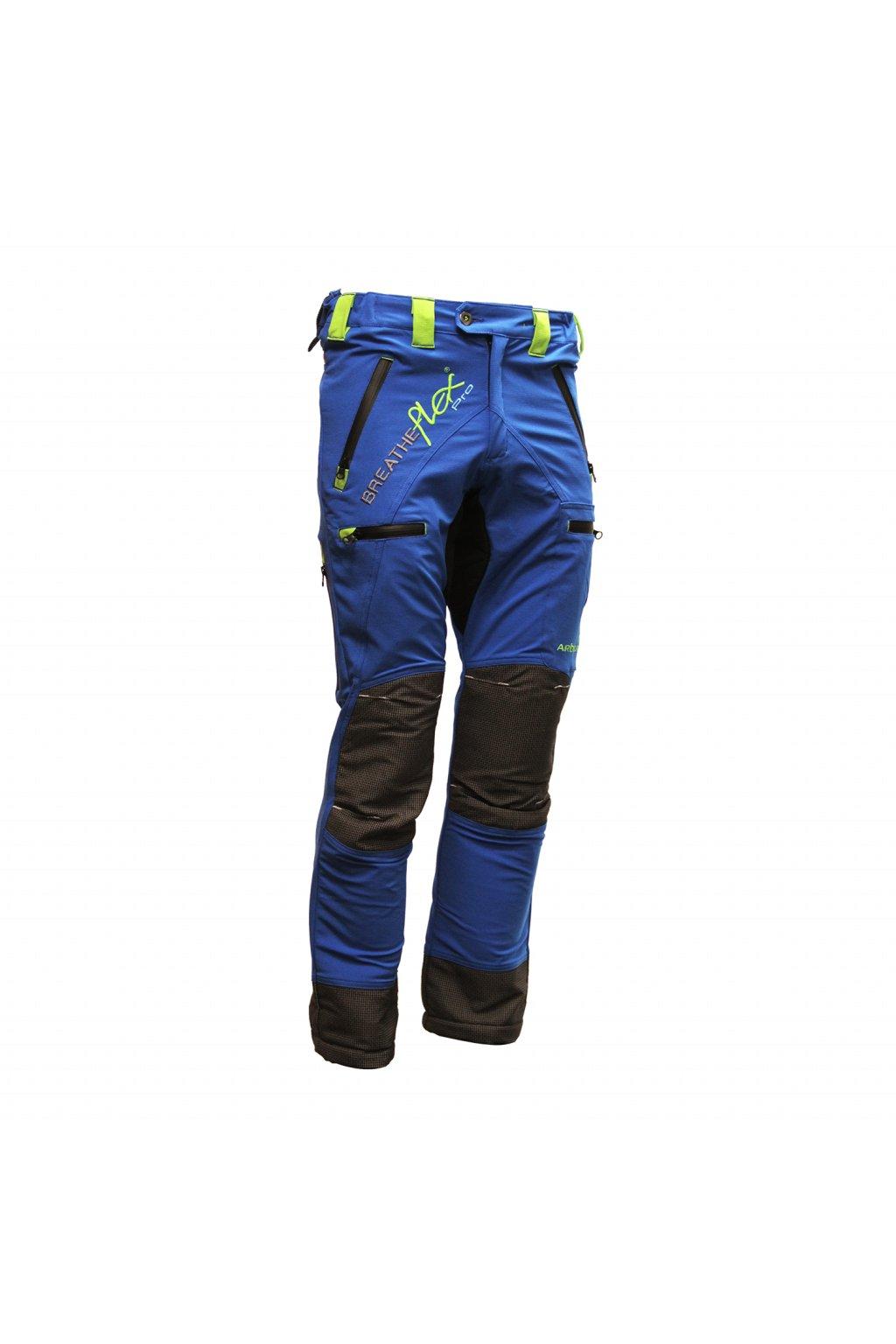 Arboristické kalhoty bez protipořezové ochrany modré Reg
