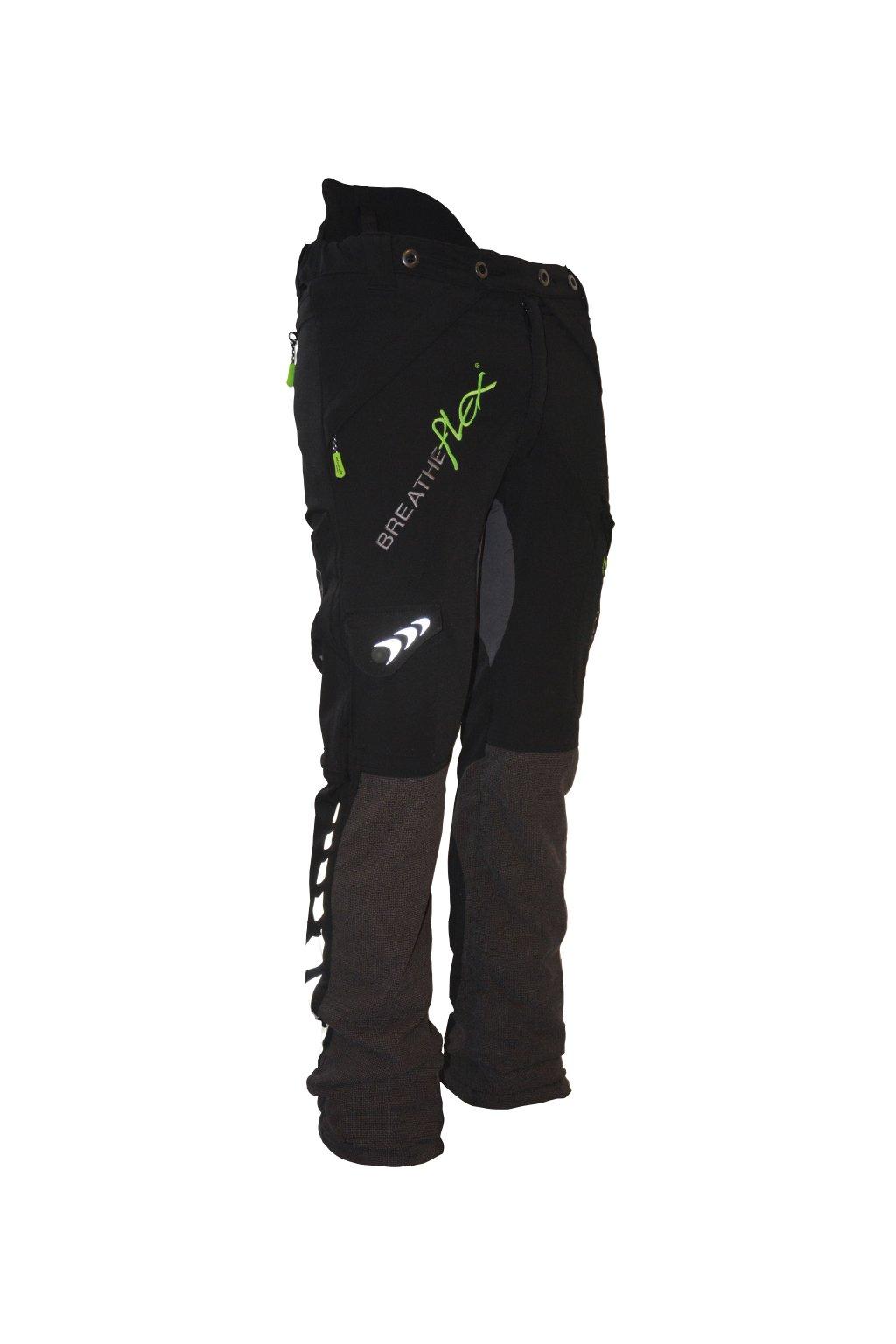 Protipořezové kalhoty Breatheflex černé Class1/TypeA Reg