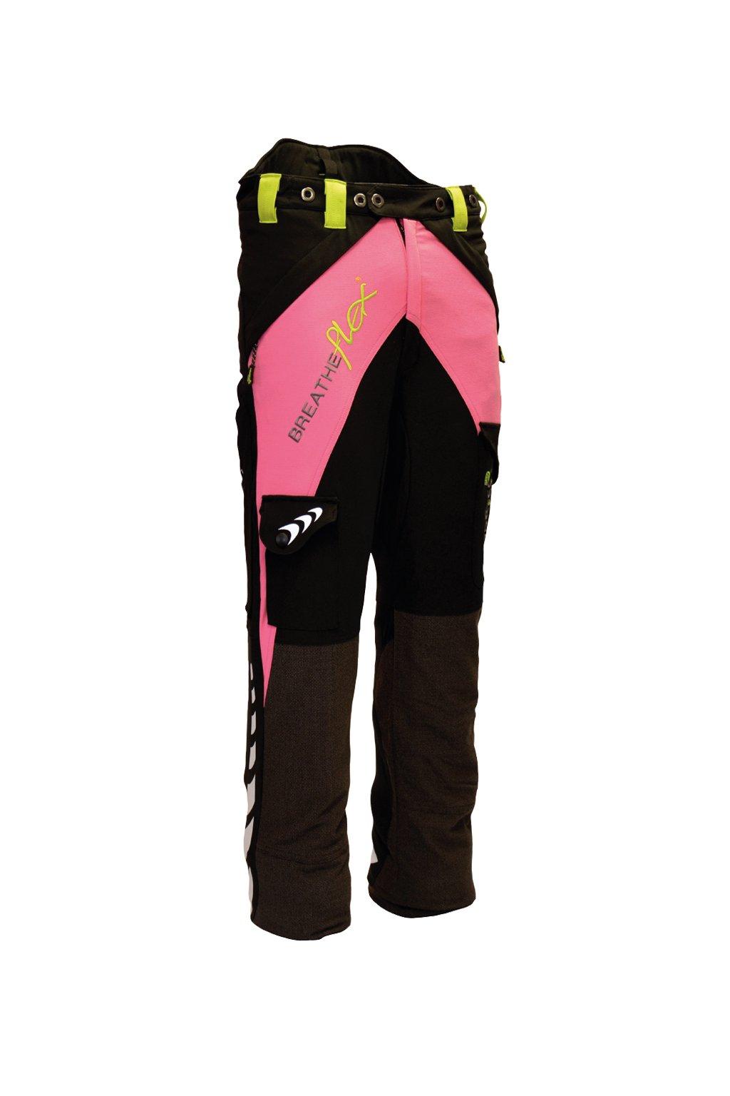 Protipořezové kalhoty Breatheflex Pink Class1/TypeA Reg
