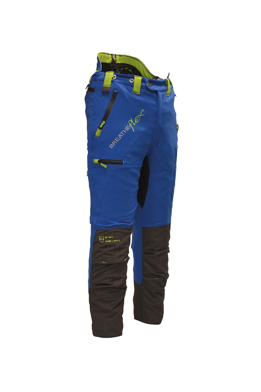 Protipořezové kalhoty Breatheflex Pro modré Class1/TypeC Reg