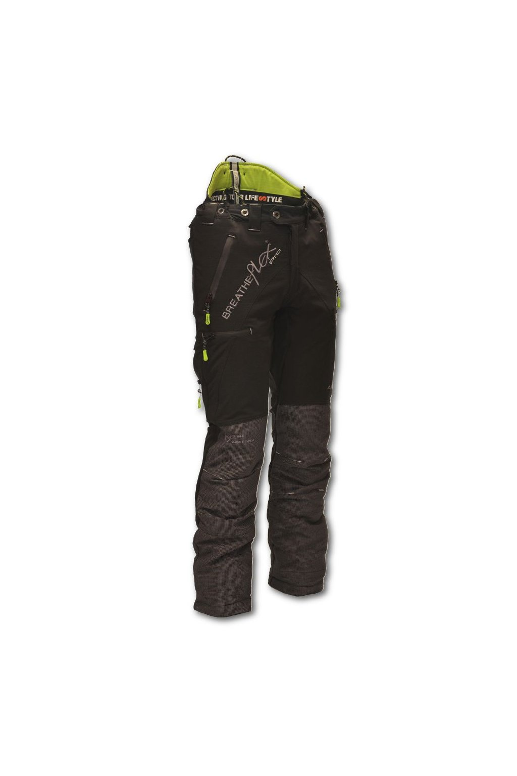 at4060 at4070 class 1 black breatheflex pro chainsaw trousers