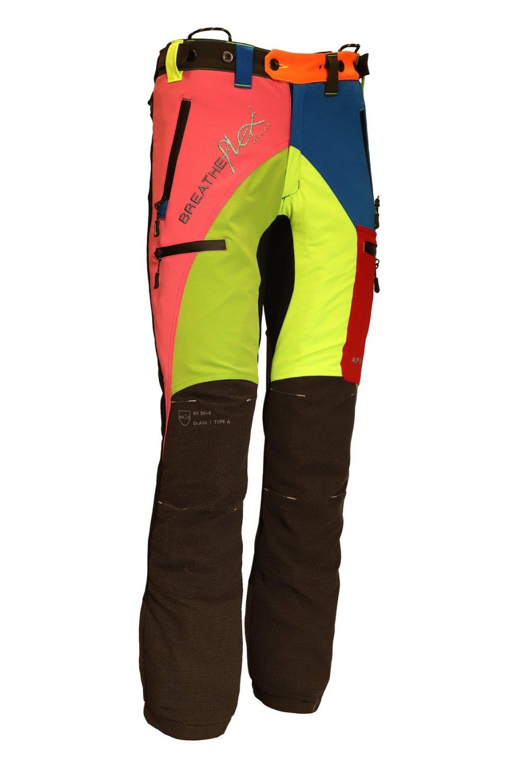 """Protipořezové kalhoty Breatheflex Pro """"MULTI"""" Class1/TypeA Reg"""