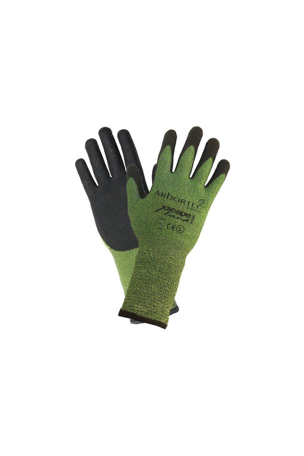 Lezecké rukavice s prodlouženou manžetou