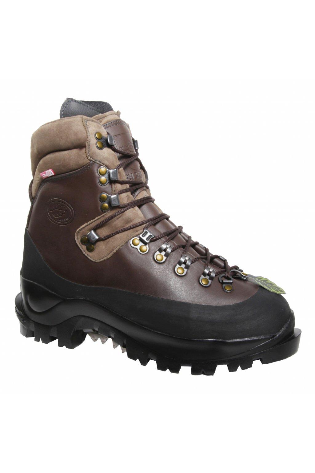 Protipořezová obuv Scafell Boot Class 2 hnědá