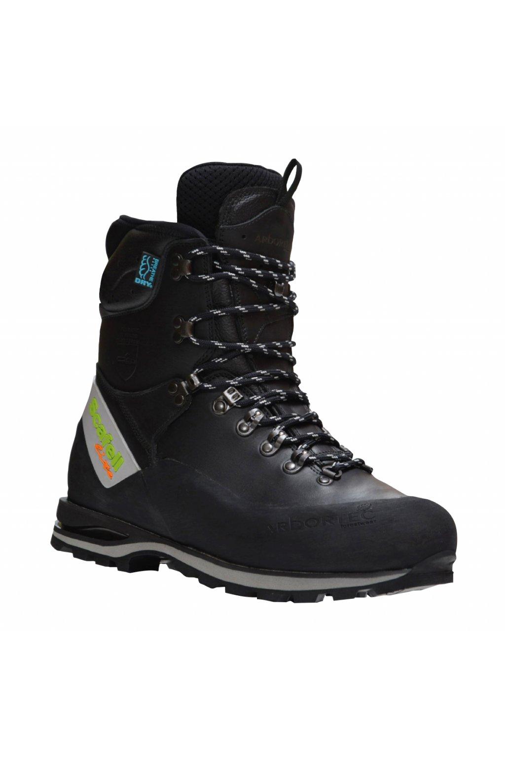 Protipořezová obuv Scafell Lite Class 2 černá + dárek