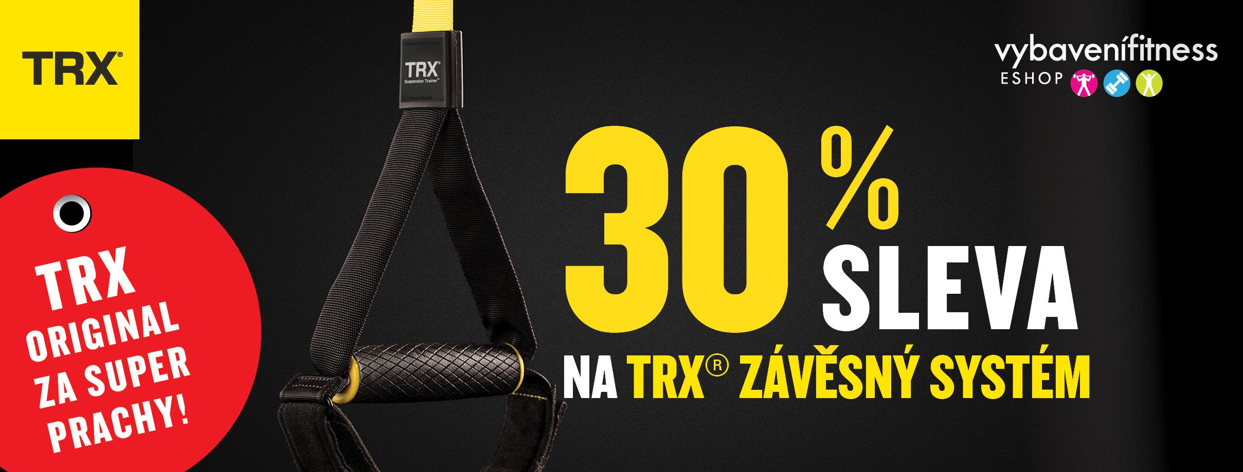 TRX sleva 30 % na závěsný systém TRX