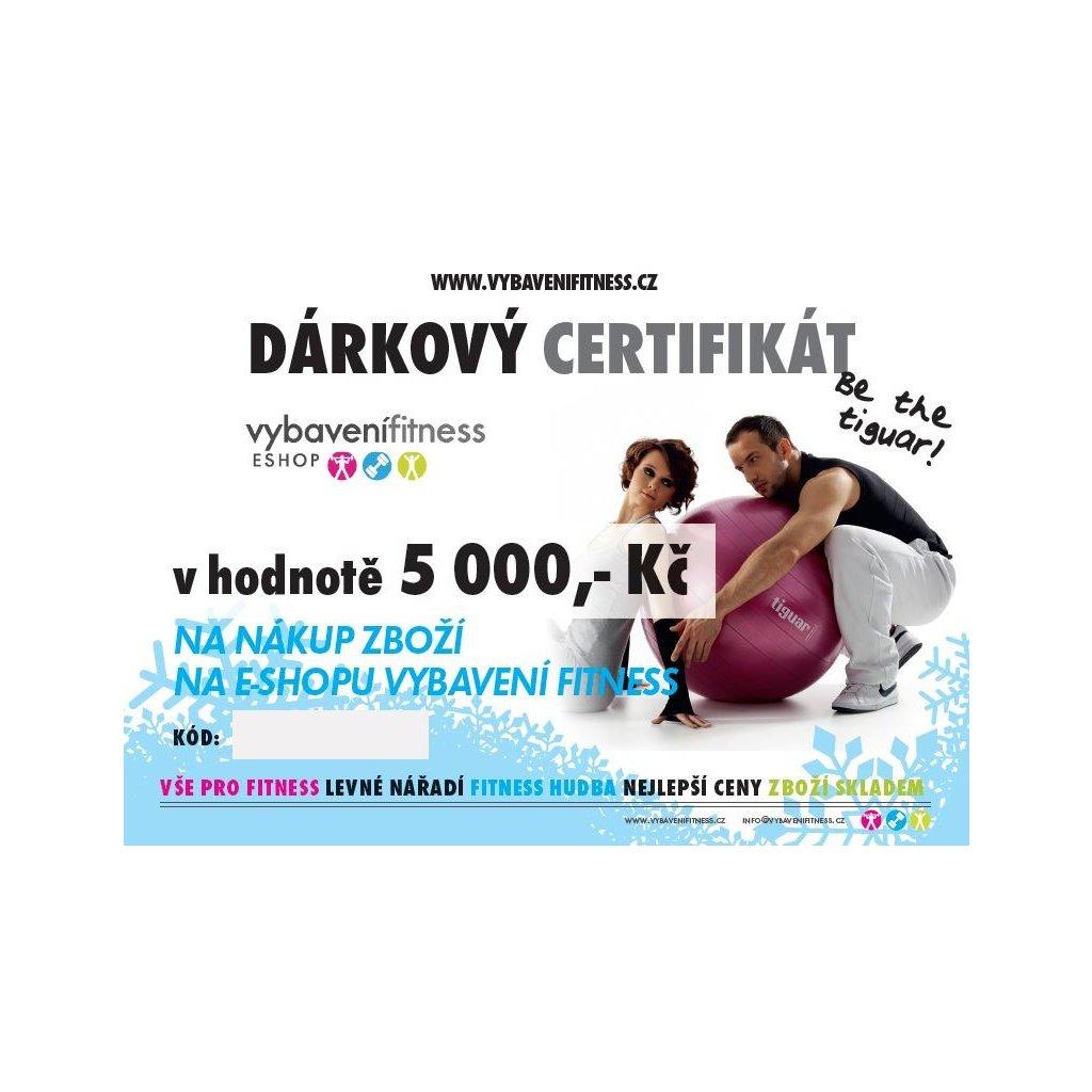 darkovy poukaz 5 000