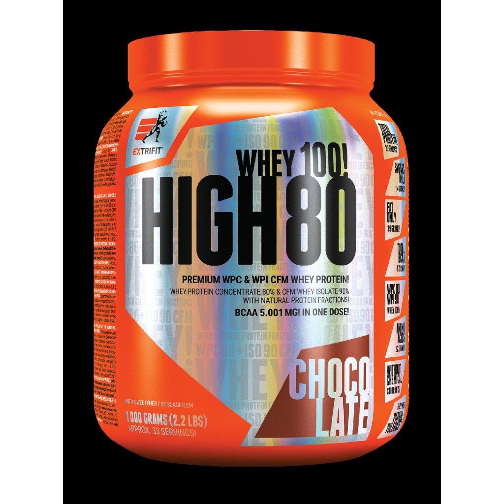 EXTRIFIT® High Whey 80 – vanilkový, 1 kg_01