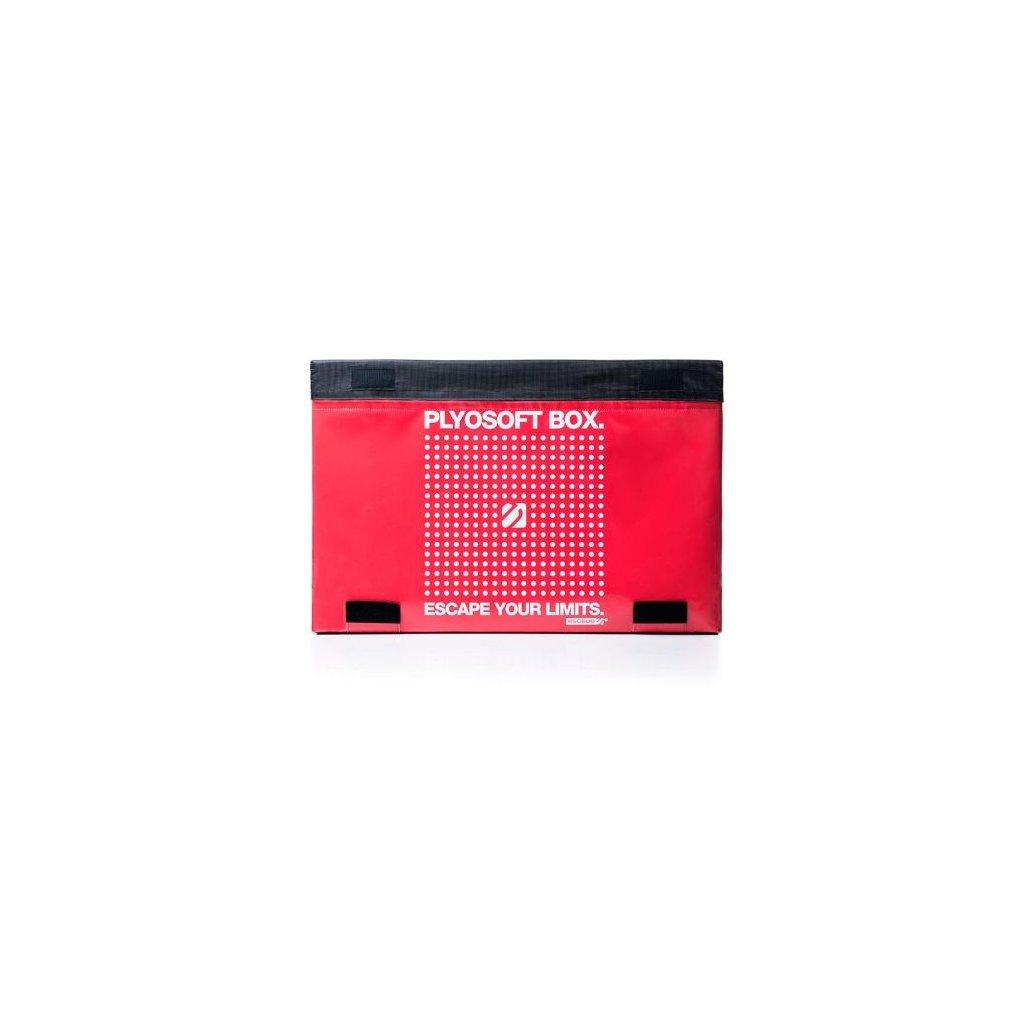 Plyometrický stupínek (Plyo box) Escape – červený – 03_01