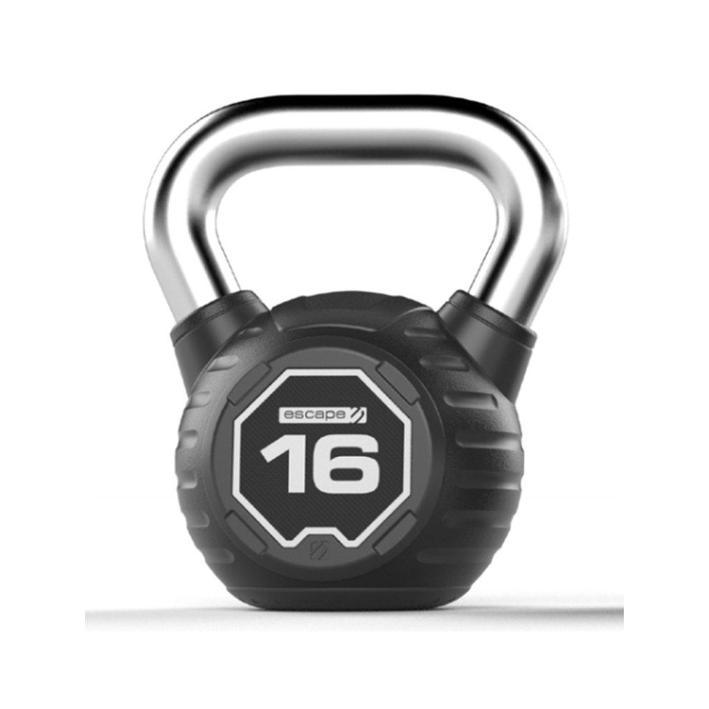 Pogumovaný kettlebell Escape – 12 kg_01