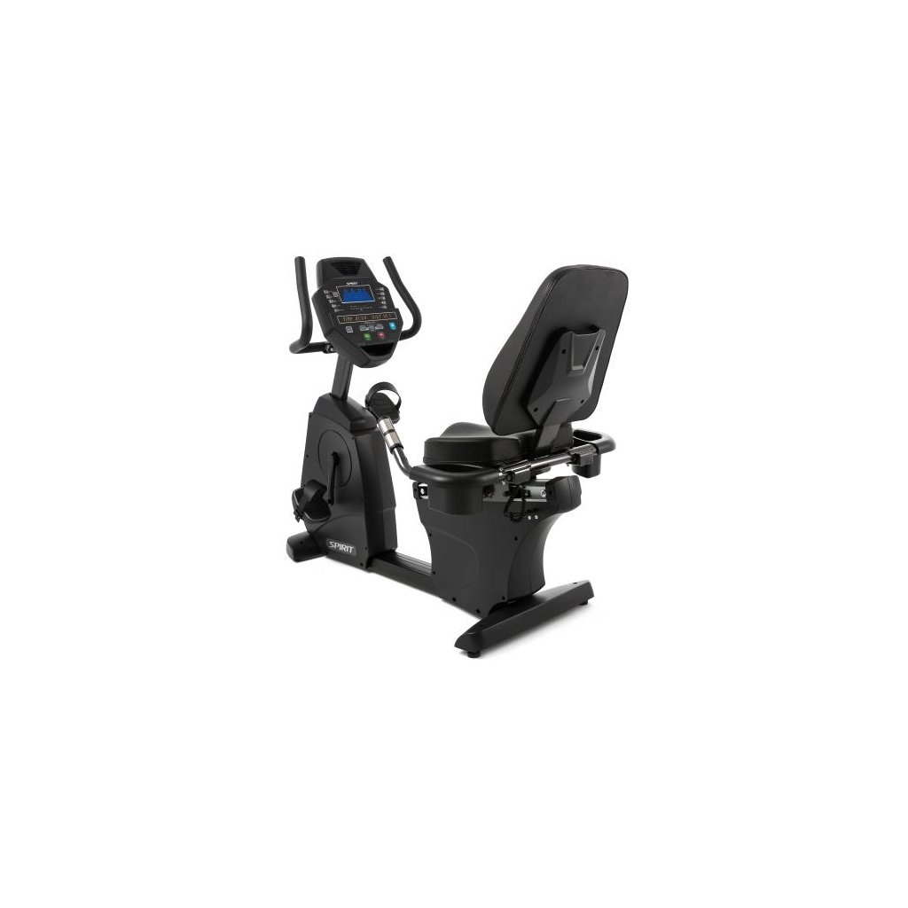Spirit – Cyklistický trenažer s opěrkou CR800, černý_01