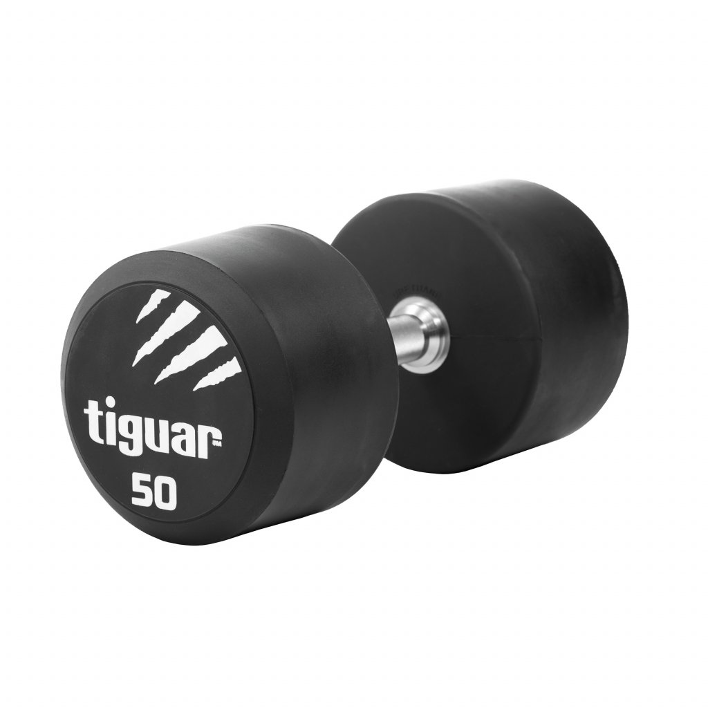 Tiguar jednoruční PU činka 50 kg_01
