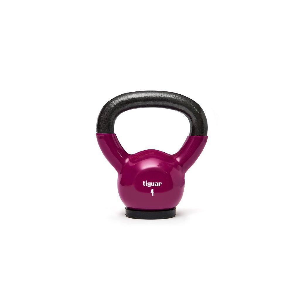 Tiguar Kettlebells 4 kg (fialová)_01