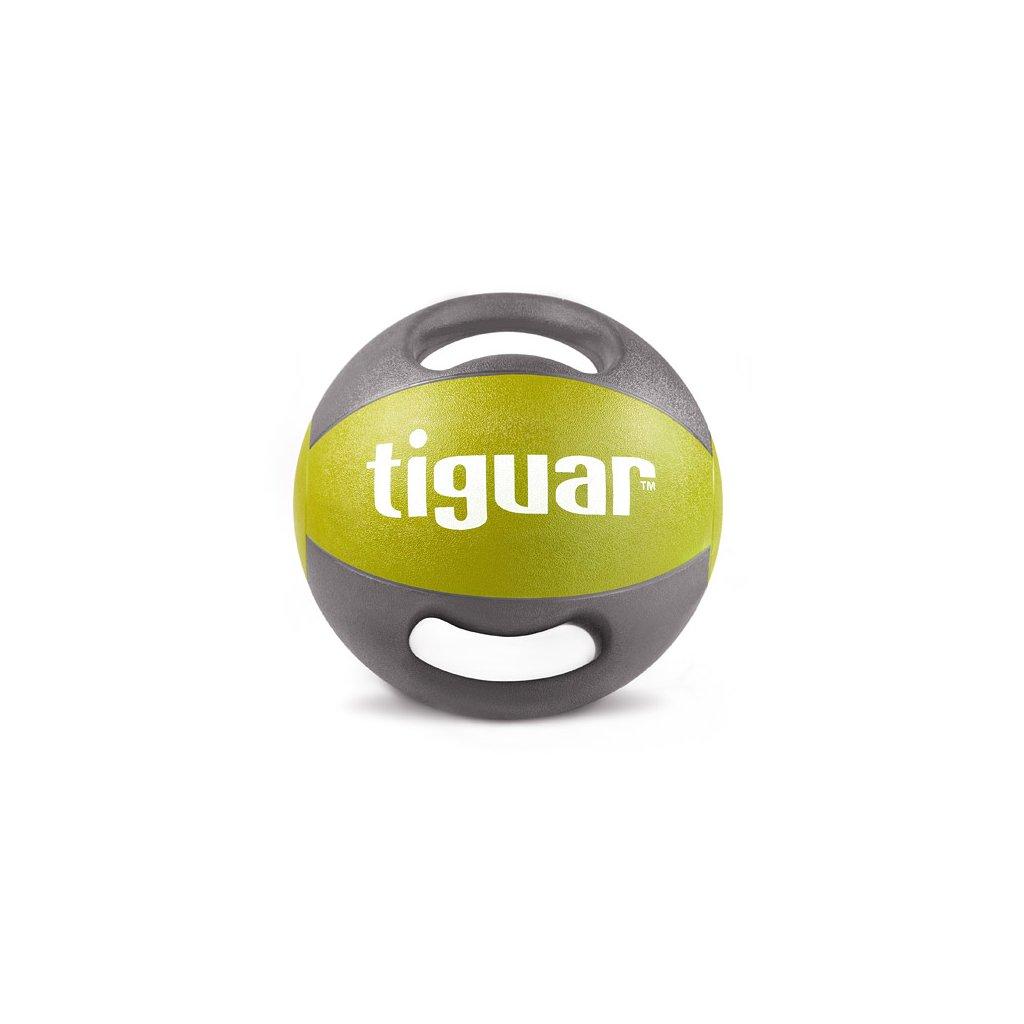 Tiguar medicinbál s úchyty 7 kg (olivový)_01