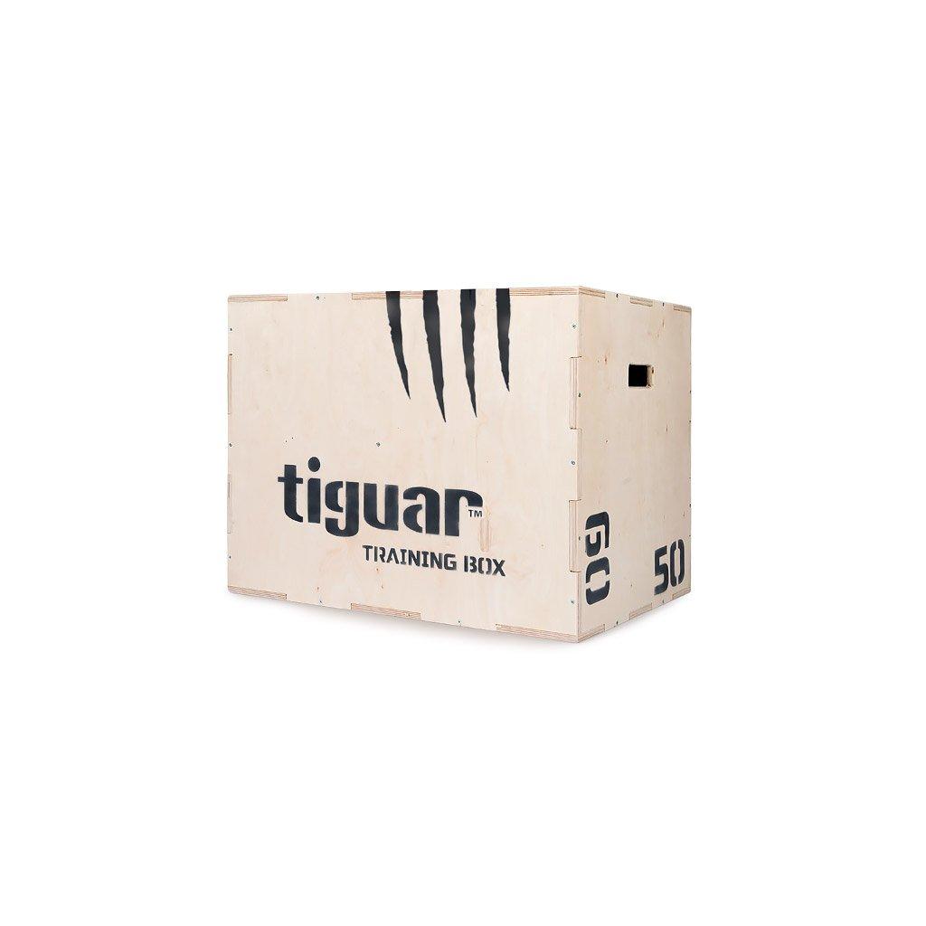 Tiguar Plyo box dřevěný_01