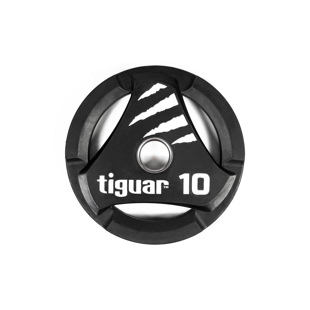 Tiguar PU kotouč na olympijskou osu 10 kg_01