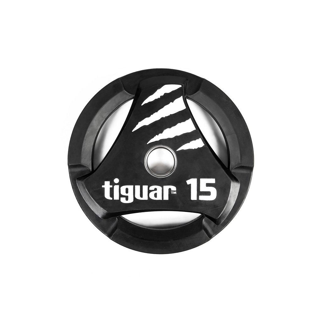 Tiguar PU kotouč na olympijskou osu 15 kg_01
